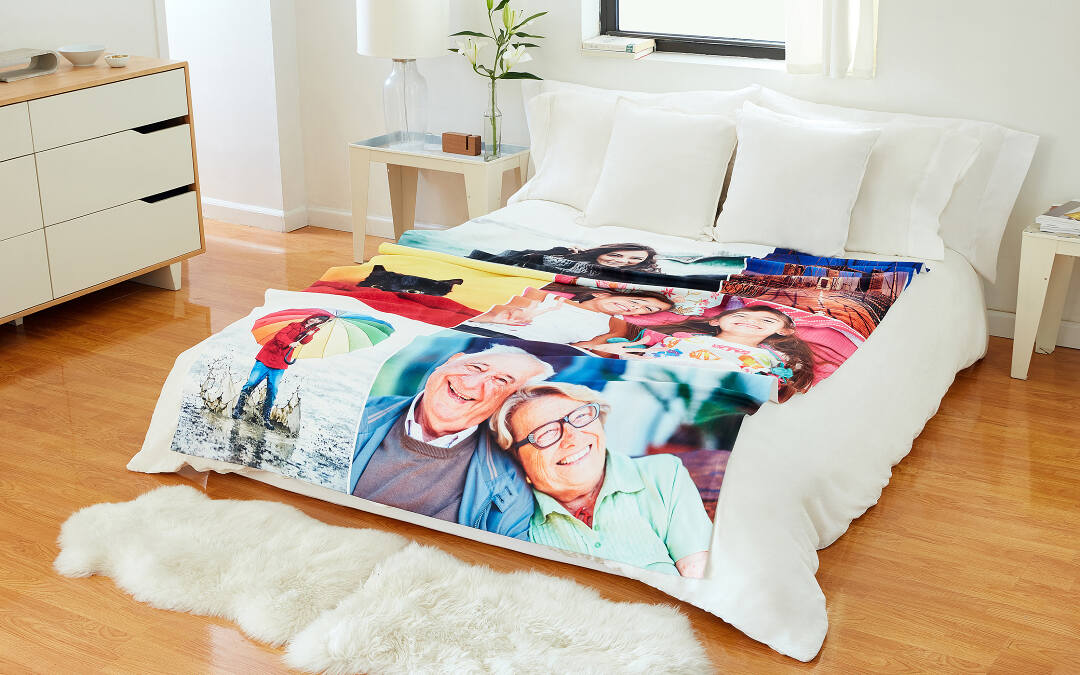 Photo Blankets | Create Personalized Photo Blankets with Collage.com