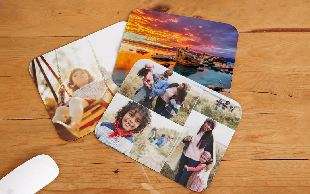 Design Your Own Personalized Mouse Pad With Collage.com