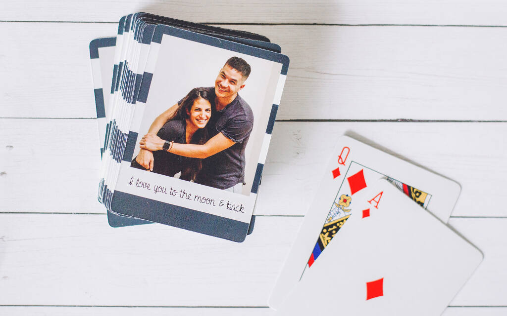 Create Personalized Playing Cards With Collage.com